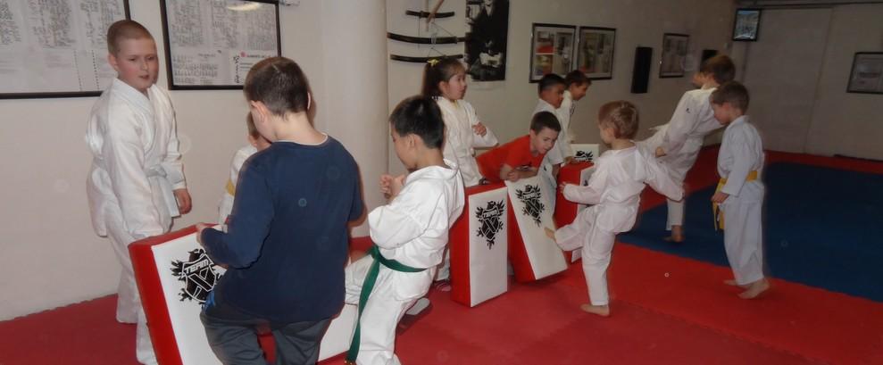Budoucí mistři karate